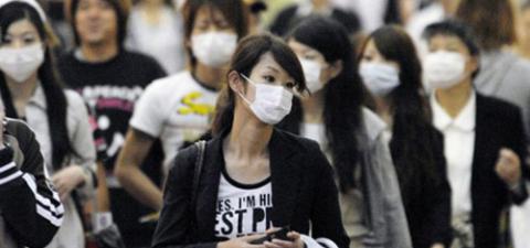 Япония поднимает мытьё рук на новый уровень