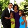 Дочерям Обамы сделана прививка от свиного гриппа