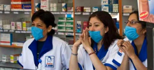 За появление на работе без маски жителям Тернополя грозит штраф – 17 гривен